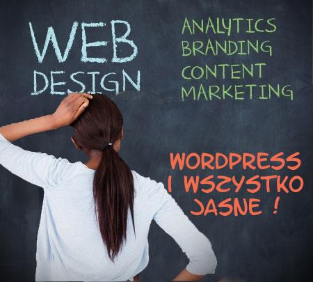 Firmowa strona internetowa na Wordpress - warsztaty dla laików