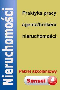 Pakiet: praktyka pracy brokera/agenta nieruchomości