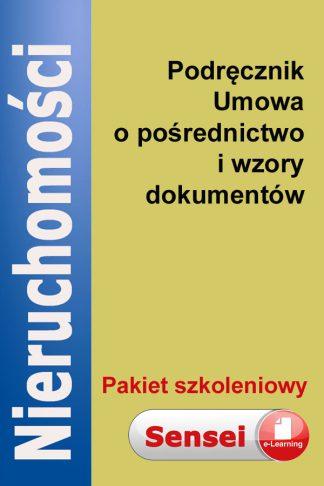 podręcznik umowa o pośrednictwo w obrocie nieruchomościami